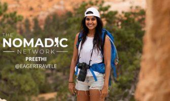 Preethi, a solo female travel photographer